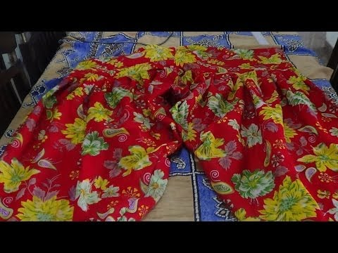 How To Cut and Stitch  Semi Patiala Salwar (easy way)