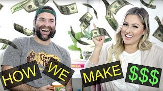 How We Make Money On Youtube - Money Vlog