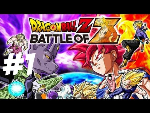PS Vita Dragon Ball Z Battle of Z Gameplay Playthrough Part 1