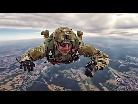 Special Operations Soldiers • Parachute Free-Fall