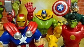 Marvel Super Hero Mashers with the Avengers