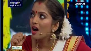 Funny comedy skit  by AISWARYA ANIL KUMAR with actor SENTHIL in new face hunt floor
