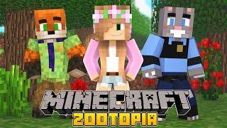 Minecraft - Little Kelly Adventures : STUCK IN ZOOTROPOLIS!