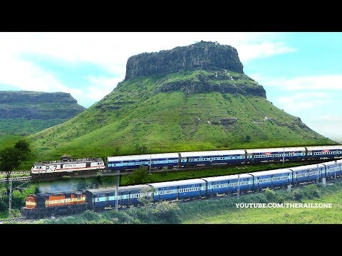 Xxx Mp4 The Most Beautiful Hills Amp Trains MANMAD Thumbs Up Hill Indian Railways 3gp Sex