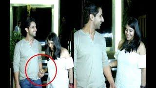 Ekta Kapoor Hot With Boyfriend At Rohina Iyer Birthday Party 2017