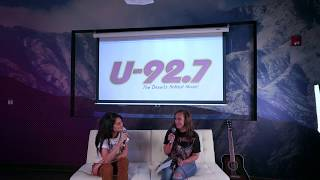 "Moxie Raia Interview & Acoustic Performance Of ""Wheels"""