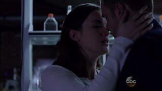 Jemma & Leo's (Fitzsimmons) first kiss scene | Marvel's Agents of S.H.I.E.L.D. | 3x08