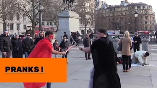MESSING WITH MY FRIEND IN PUBLIC . GOT PUNCHED !!!!!