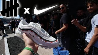 CAMPING OUT OVER 15 HOURS FOR THE UNDEFEATED x AIR MAX 97!!! *THIS WAS CRAZY*