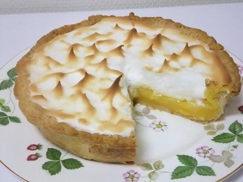♪ レモンパイ 市販のパイ生地で簡単に Lemon pie