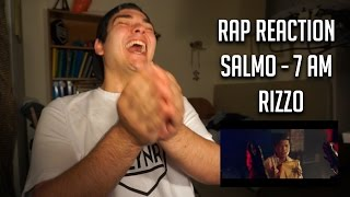 RAP REACTION • Salmo - 7 am • Rizzo