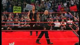Goldberg tell The Rock Who is next