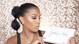 Jaclyn Hill x Morphe Palette Review   MakeupShayla