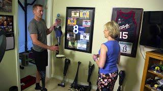 Jeff Glasbrenner's Leg Collection: Real Sports Bonus Clip (HBO)