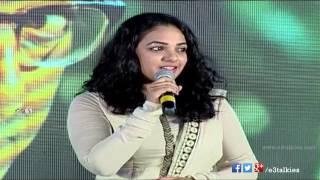 Nithya Menen Cute Speech @ OK Kanmani/Ok Bangaram Audio Success Meet - Release On April 17th