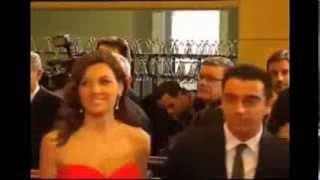 ابراهيموفيتش يضرب تشافي علي قفاه في حفل توزيع جوائز الفيفا