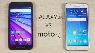 Galaxy J5 vs Moto G 2015 (3rd Gen) Comparison!