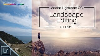 Lightroom Tutorial - Editing Landscape Photos