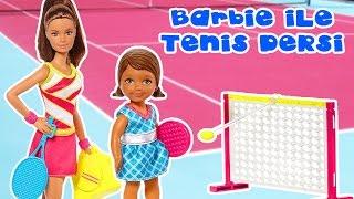 Barbie Tenis Oynuyor   Oyuncak Bebek   Oyuncak Butiğim