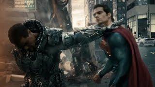 Superman vs Zod Pelea completa español latino HD