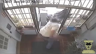 Security Guard Confronts Armed Robbers at Marijuana Dispensary | Active Self Protection
