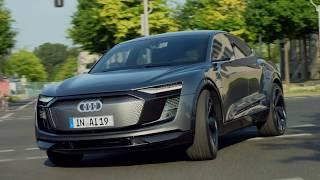 Audi ELAINE - driving shots