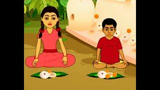 Thakumar Jhuli | Sona Rupa O Daine | Thakumar Jhuli Cartoon | Bengali Stories | Part 3