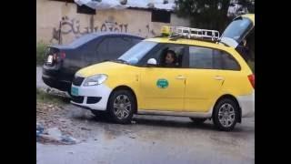 كاميرا خفيه بالخليل شنطة حشيش بتكسي عمومي من برنامج مقلب وعالماشي
