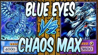 BLUE EYES vs CHAOS MAX DRAGON DECK! Which is BETTER? (Yugioh Competititve Deck Duel)