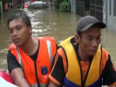 Live Report : Reni Anggraeni. Banjir Ibukota - iNews Siang 20/02