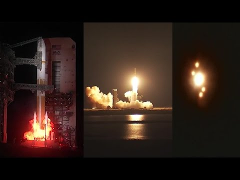 Delta IV launches WGS 9 satellite