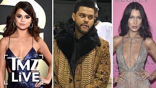 Bella Hadid Mum On Selena Gomez and The Weeknd I TMZ LIVE