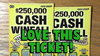 **NICE WIN** Again! 2X $250,000 Cash Winfall 💰 ✦ TEXAS LOTTERY SCRATCH OFF TICKETS
