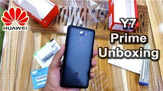 Huawei Y7 Prime Unboxing