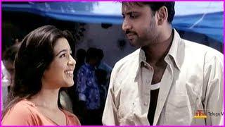 Sumanth And Charmi Kaur Scenes - Chinnodu Telugu Movie Scenes   Brahmanandam
