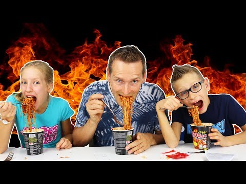 Xxx Mp4 KOREAN FIRE NOODLE CHALLENGE W Our DAD 3gp Sex