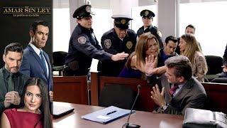 ¡Milena recibe su castigo! | Por amar sin ley - Televisa