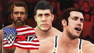 REAL AMERICAN HEROES - WWE 2k17 Gameplay