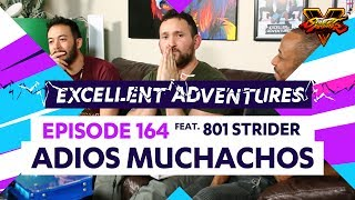 ADIOS MUCHACHOS ft. 801 STRIDER! The Excellent Adventures of Gootecks & Mike Ross Ep. 164 (SFV S2)