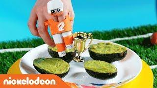 DIY Super Bowl 🏈  Snack Recipes! 🍪  w/ Teenage Mutant Ninja Turtles, Loud House & More! | Nick