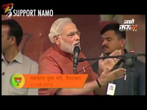 watch [ Must Watch ] - The NaMo Current to Congress !