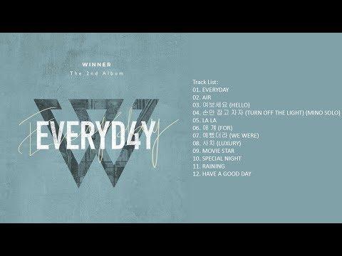 [Full Album] WINNER – EVERYD4Y (Album)