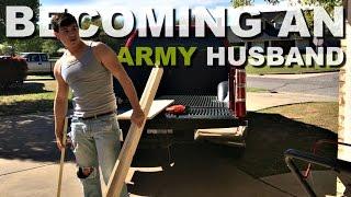 BECOMING AN ARMY HUSBAND - VLOG 3.7