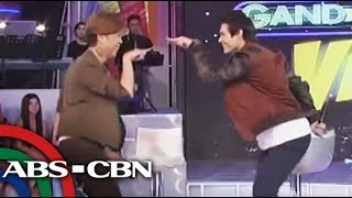 Gandang Gabi Vice: Enrique Gil Dances to 'Whoops Kiri'