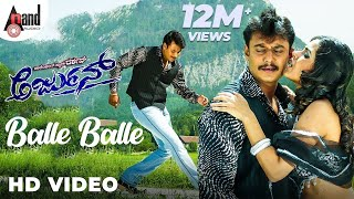 "Arjun|""Balle Balle""| Feat.Darshan,Meera Chopra| New Kannada Songs"