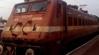 Kerala express at its full speed