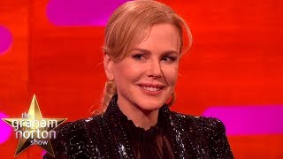 Nicole Kidman Studied Brain Surgery For A Role! | The Graham Norton Show