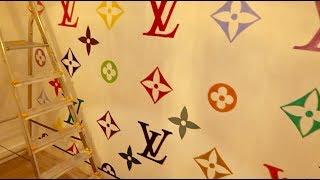 En nog een dag Louis Vuitton muur...   Maya Vlog 39