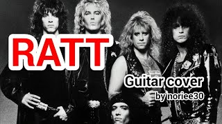 RATT   Nobody Rides For Free   guitar cover