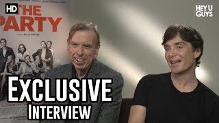 Cillian Murphy & Timothy Spall   The Party Exclusive Interview